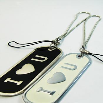 金屬吊飾套組-IOU系列.大